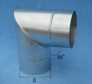 отвод стальной 90 градусов, отмет водосточный, отмет трубы